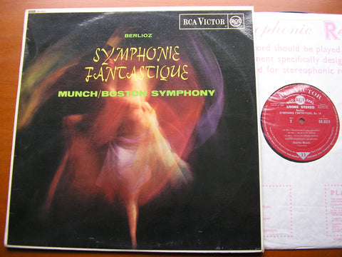 BERLIOZ: SYMPHONIE FANTASTIQUE    MUNCH / BOSTON SYMPHONY    SB 6521
