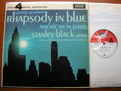 GERSHWIN: RHAPSODY IN BLUE / AN AMERICAN IN PARIS  BLACK / LONDON FESTIVAL ORCHESTRA  PFS 4098