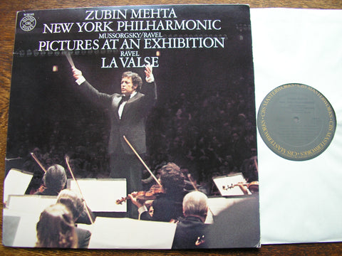 MUSSORGSKY: PICTURES AT AN EXHIBITION / RAVEL: LA VALSE   MEHTA / NEW YORK PHILHARMONIC  M35165