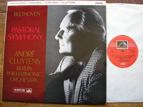BEETHOVEN: SYMPHONY No. 6 'PASTORAL'   CLUYTENS / BERLIN PHILHARMONIC   ASD 433