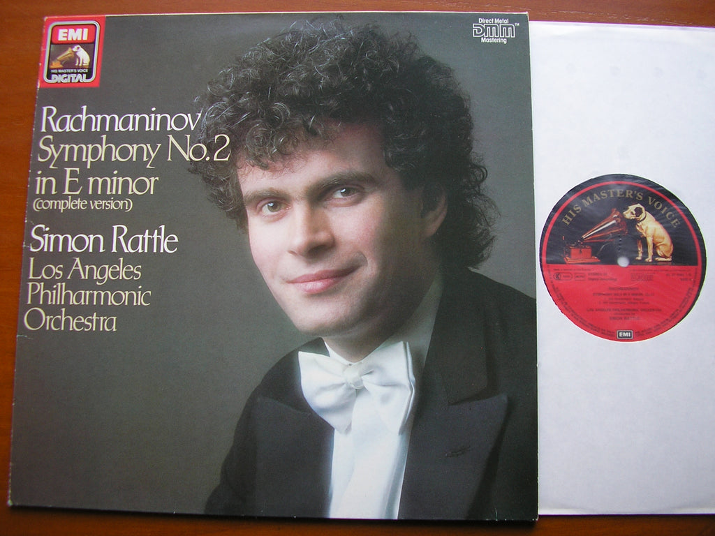 RACHMANINOV: SYMPHONY No. 2    RATTLE / LOS ANGELES PHILHARMONIC  270052
