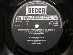 RACHMANINOV: THE FOUR PIANO CONCERTOS / RHAPSODY    ASHKENAZY / LONDON SYMPHONY / PREVIN      3 LP