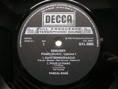 DEBUSSY: PIANO WORKS Volumes 1 / 2 / 3    PASCAL ROGE    SXL 6855 / 6928 / 6957