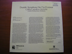 DVORAK: SYMPHONY No. 7     GIULINI / LONDON PHILHARMONIC   ASD 3325