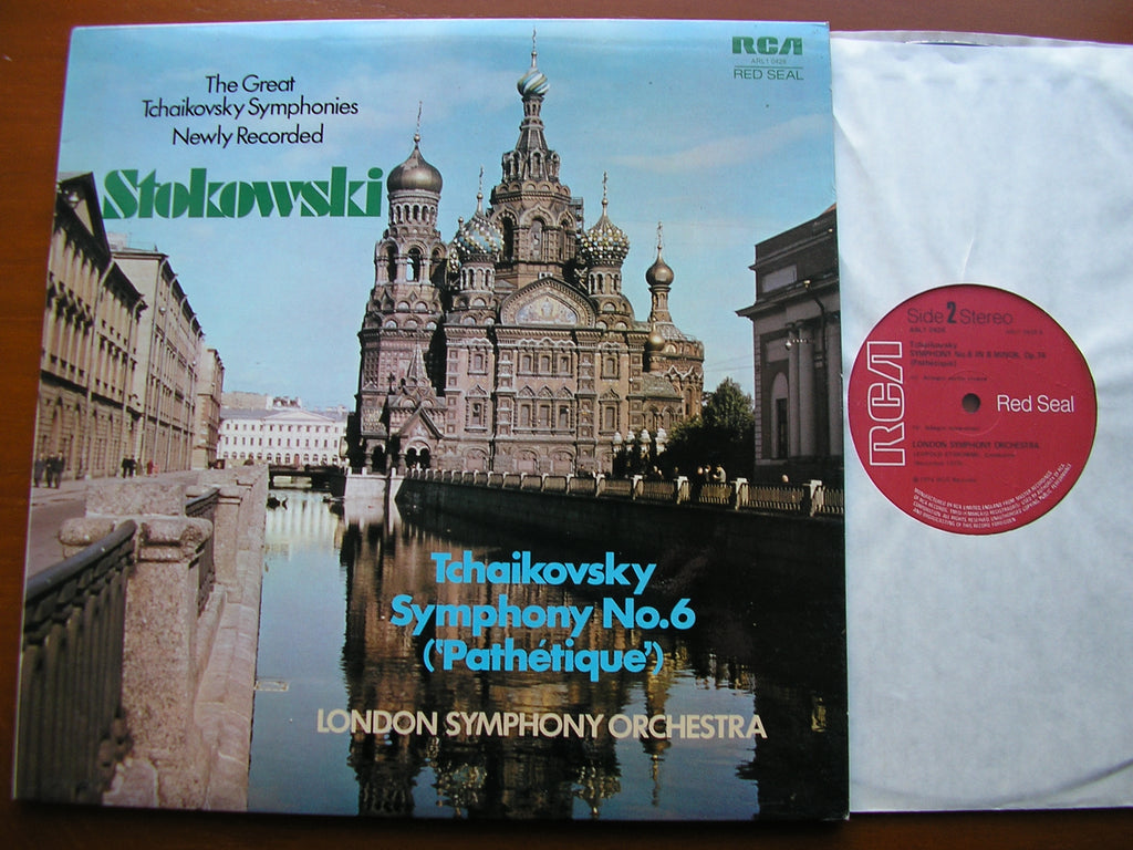 TCHAIKOVSKY: SYMPHONY No. 6 'Pathetique'   STOKOWSKI / LONDON SYMPHONY   ARL1-0426