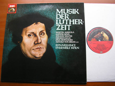 MUSIC IN THE AGE OF LUTHER: AGRICOLA / SENFL / ISAAC / WALTER / VON BRUCK      RENAISSANCE ENSEMBLE COLOGNE   069 46680