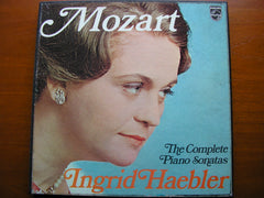 MOZART: THE COMPLETE PIANO SONATAS   INGRID HAEBLER   6 LP SET   AXS 6001