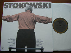 STOKOWSKI: HIS GREAT TRANSCRIPTIONS FOR ORCHESTRA    STOKOWSKI / NATIONAL PHILHARMONIC  M34543