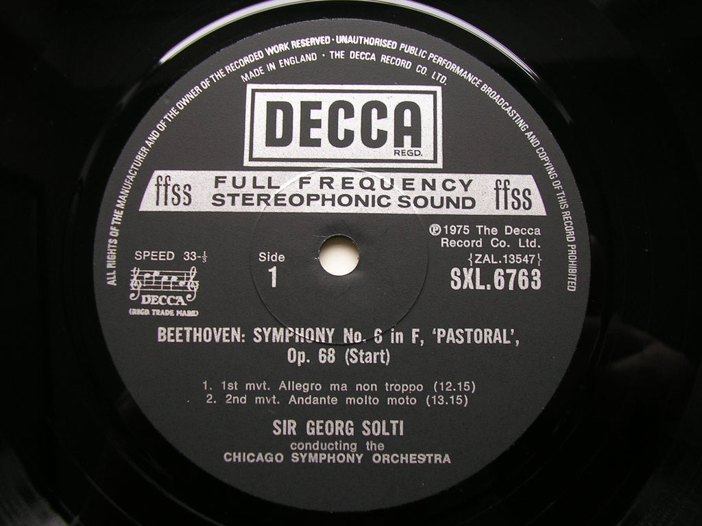 BEETHOVEN: THE SYMPHONIES / FOUR OVERTURES SOLTI / CHICAGO