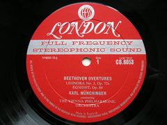 BEETHOVEN: FAMOUS OVERTURES   MUNCHINGER / VIENNA PHILHARMONIC   CS 6053