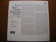 RESPIGHI: PINES OF ROME / FOUNTAINS OF ROME  ANSERMET / SUISSE ROMANDE  SXL 6141