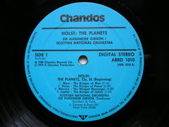 HOLST: THE PLANETS   GIBSON / SCOTTISH NATIONAL ORCHESTRA   ABRD 1010
