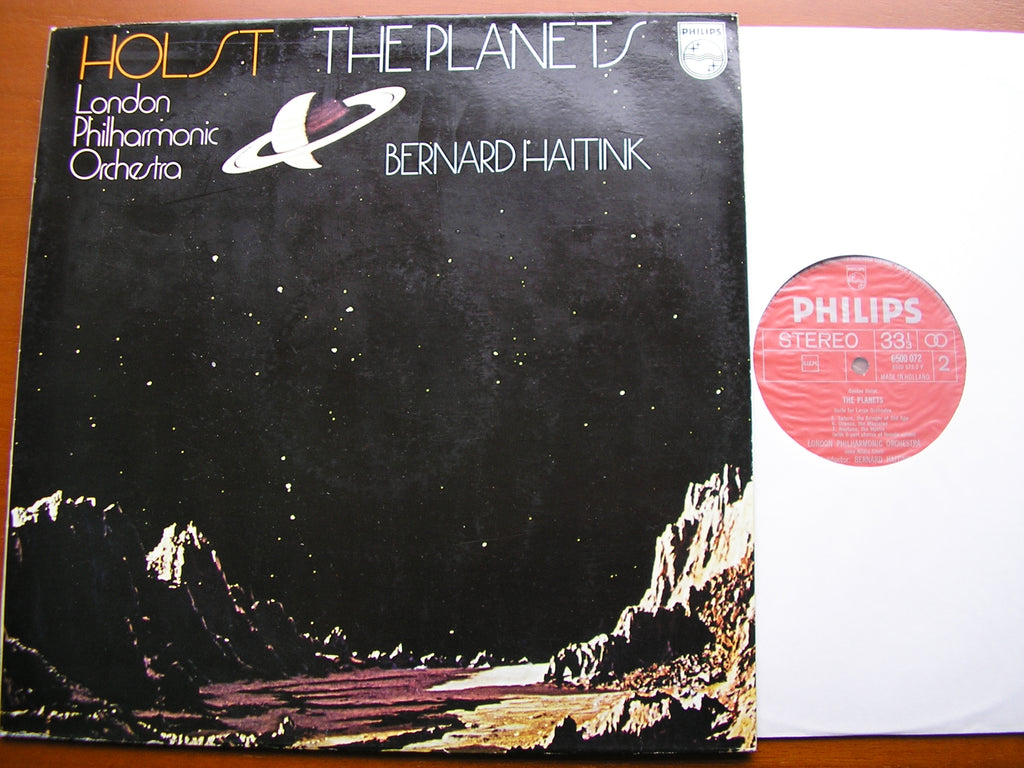 HOLST: THE PLANETS    HAITINK / LONDON PHILHARMONIC   6500 072