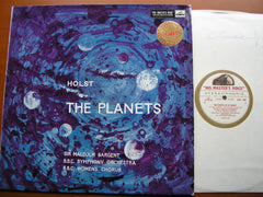 HOLST: THE PLANETS   SARGENT / BBC SYMPHONY   ASD 269