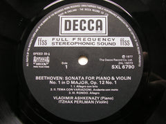 BEETHOVEN: THE COMPLETE SONATAS FOR VIOLIN & PIANO   PERLMAN / ASHKENAZY  5LP