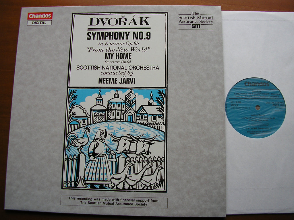 DVORAK: SYMPHONY No.9 / OVERTURE MY HOME   JARVI / SCOTTISH NATIONAL ORCHESTRA   ABRD 1220
