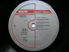 CHOPIN: FOUR SCHERZI / POLONAISE No. 7    CLAUDIO ARRAU   412 610