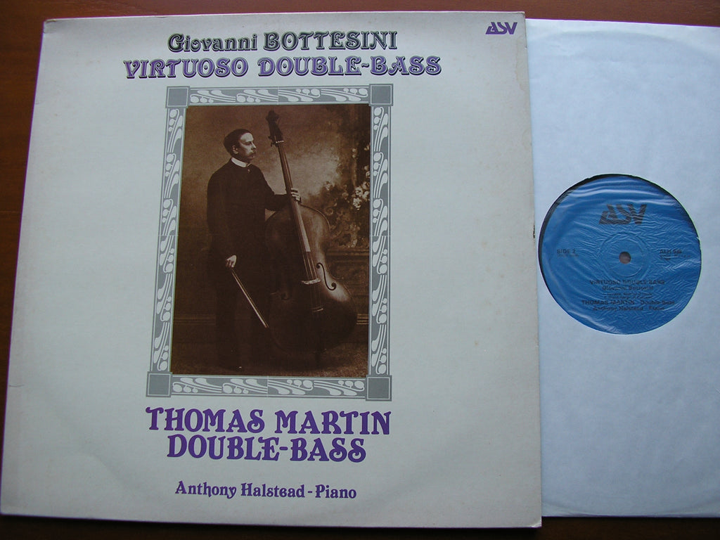 BOTTESINI: MUSIC FOR VIRTUOSO DOUBLE-BASS    MARTIN / HALSTEAD    ALH 939