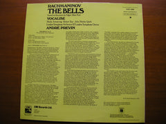 RACHMANINOV: THE BELLS / VOCALISE  SOLOISTS / LSO / PREVIN  ASD 3284