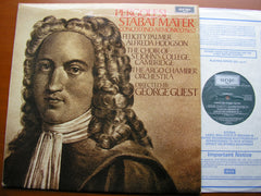 PERGOLESI: STABAT MATER / CONCERTINO ARMONICO No. 2   SOLOISTS / ARGO CHAMBER ORCHESTRA / GUEST   ZRG 913