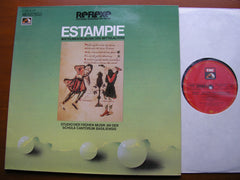 ESTAMPIE - INSTRUMENTAL MUSIC OF THE MIDDLE AGES   STUDIO DER FRUHEN MUSIK / BINKLEY   063 - 30122