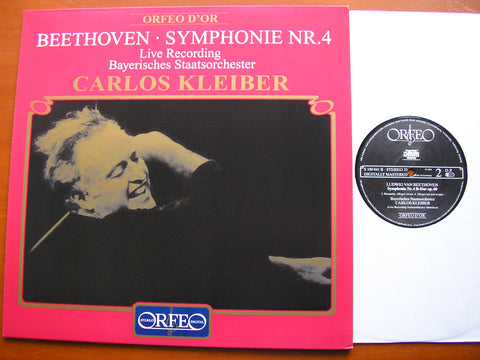 BEETHOVEN: SYMPHONY No. 4    KLEIBER / BAVARIAN STATE ORCHESTRA   S 100 841 B