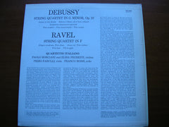 DEBUSSY: STRING QUARTET in G / RAVEL: STRING QUARTET in F     QUARTETTO ITALIANO    SAL 3643