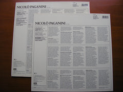 ACCARDO PLAYS PAGANINI  Volumes 1 & 2  ACCARDO / CHAMBER ORCHESTRA OF EUROPE / TAMPONI   2LP   270062 / 270063