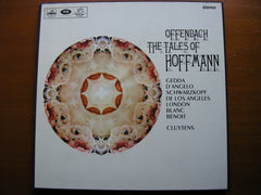 OFFENBACH: THE TALES OF HOFFMANN   GEDDA / SCHWARZKOPF / DE LOS ANGELES / D'ANGELO / PARIS CONSERVATOIRE / CLUYTENS    SAN 154 - 6