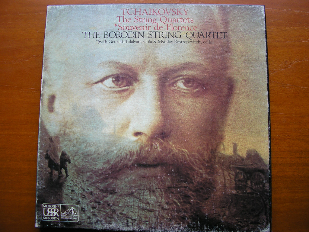 TCHAIKOVSKY: THE STRING QUARTETS BORODIN STRING QUARTET / TALALYAN / ROSTROPOVITCH SLS 889