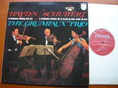 HAYDN: 3 STRING TRIOS / SCHUBERT: 2 STRING TRIOS  THE GRUMIAUX TRIO   SAL 3782