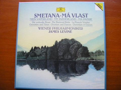 SMETANA: MA VLAST / OVERTURE & DANCES from 'The Bartered Bride'    LEVINE / VIENNA PHILHARMONIC   2 LP   419 768