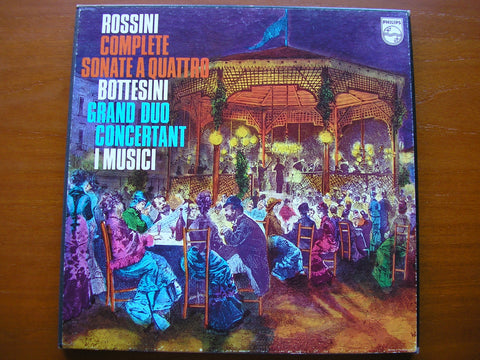 ROSSINI: STRING SONATAS Nos. 1 - 6 / BOTTESINI: GRAND DUO     I MUSICI   2 LP   6747 038