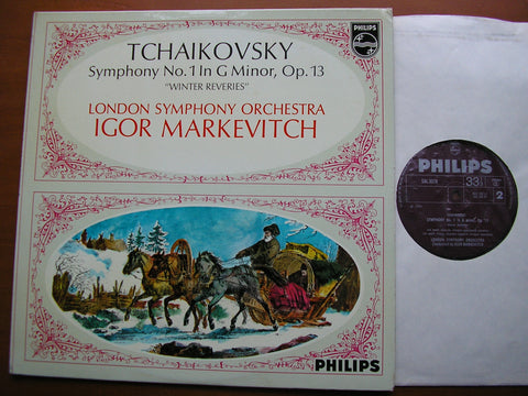 TCHAIKOVSKY: SYMPHONY No. 1 'Winter Reveries'   MARKEVITCH / LONDON SYMPHONY   SAL 3578