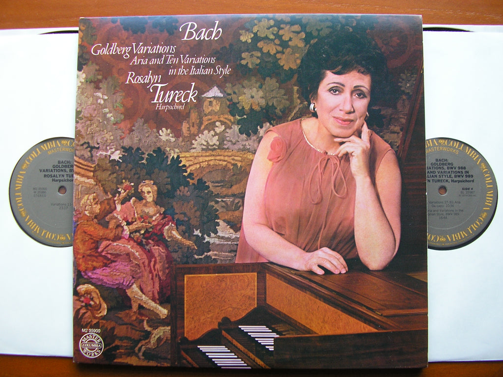 BACH: GOLDBERG VARIATIONS / ARIA & 10 VARIATIONS IN THE ITALIAN STYLE BWV 989   ROSALYN TURECK   M2 35900