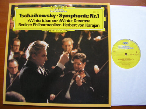 TCHAIKOVSKY: SYMPHONY No. 1 'Winter Reveries'   KARAJAN / BERLIN PHILHARMONIC    2531 284