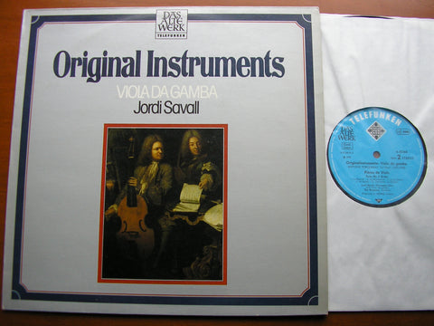 MUSIC FOR VIOLA DA GAMBA BY FORQUERAY     SAVALL / KOOPMAN / COIN   6.42366