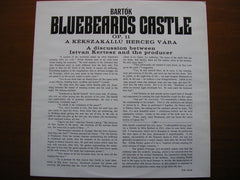 BARTOK: BLUEBEARD'S CASTLE    BERRY / LUDWIG / LONDON SYMPHONY / KERTESZ    SET 311