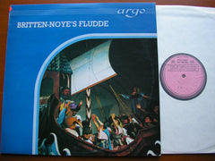 BRITTEN: NOYE'S FLUDDE   SOLOISTS / ENGLISH CHAMBER ORCHESTRA / DEL MAR    ZK 1