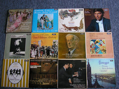 DECCA SXL 6000 SERIES WIDE BAND COLLECTION  -  PART 3  (100 LPs)   NM CONDITION