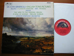 DELIUS / IRELAND / BAX: ORCHESTRAL WORKS    BARBIROLLI / LONDON SYMPHONY   ASD 2305