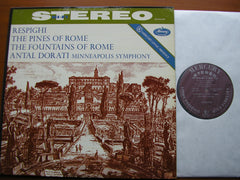 RESPIGHI: THE PINES OF ROME / THE FOUNTAINS OF ROME    DORATI / MINNEAPOLIS SYMPHONY   SR 90298
