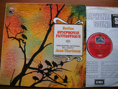 BERLIOZ: SYMPHONIE FANTASTIQUE    MARTINON / FRENCH NATIONAL RADIO ORCHESTRA     Q4ASD 2945