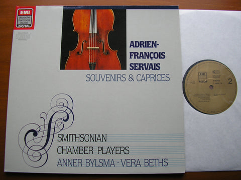 SERVAIS: SOUVENIRS & CAPRICES    BYLSMA / BETHS / SMITHSONIAN CHAMBER PLAYERS   749009