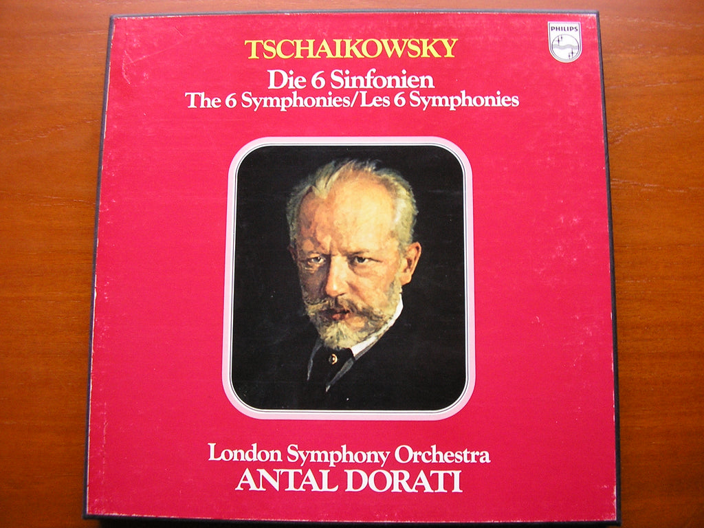 TCHAIKOVSKY: SIX SYMPHONIES    DORATI / LONDON SYMPHONY   6LP SET    6747 195