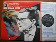 SHOSTAKOVICH: SYMPHONY No. 10    HAITINK / LONDON PHILHARMONIC    SXL 6838