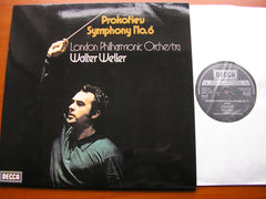 PROKOFIEV: SYMPHONY No. 6    WELLER / LONDON PHILHARMONIC    SXL 6777
