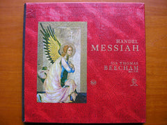 HANDEL: MESSIAH  VYVYAN / SINCLAIR / VICKERS / TOZZI / ROYAL PHILHARMONIC / BEECHAM    LDS 6409