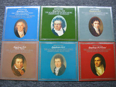 BEETHOVEN: THE NINE SYMPHONIES / TWO OVERTURES    HOGWOOD / THE ACADEMY OF ANCIENT MUSIC   6 LP