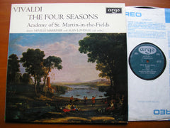 VIVALDI: THE FOUR SEASONS     LOVEDAY / ASMIF / MARRINER    ZRG 654